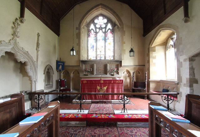 St John the Evangelist, Little Leighs - Chancel
