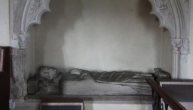 St John the Evangelist, Little Leighs - Effigy