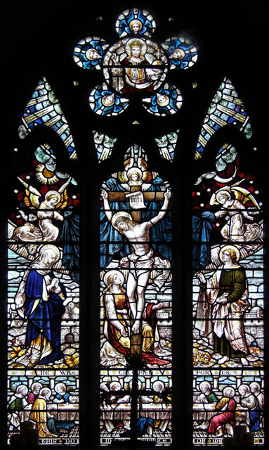 St John the Evangelist, Little Leighs - Stained glass window