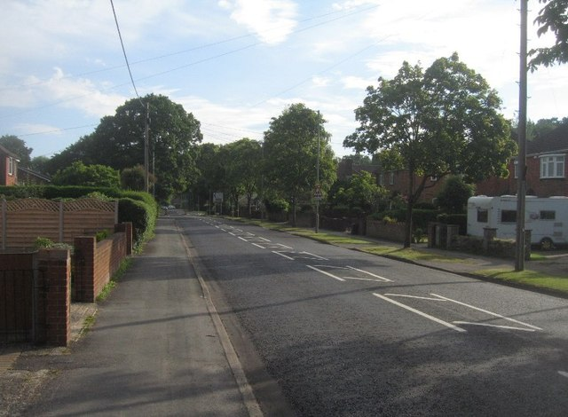 View along Prospect Road