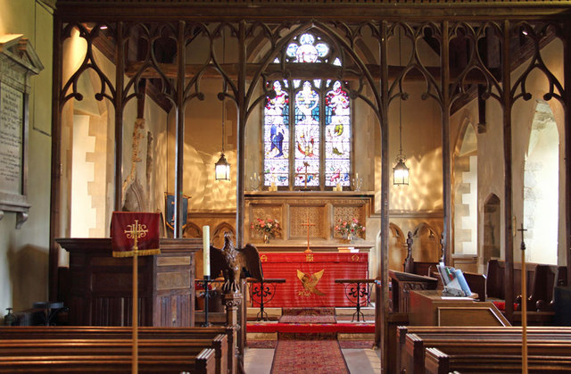 St John the Evangelist, Little Leighs - East end