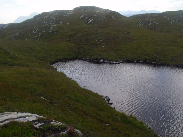 The south-east extremity of Loch a' Chapuill near Lochinver