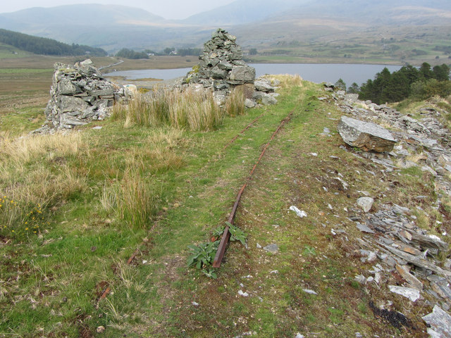 Remains of Gadair-wyllt quarry