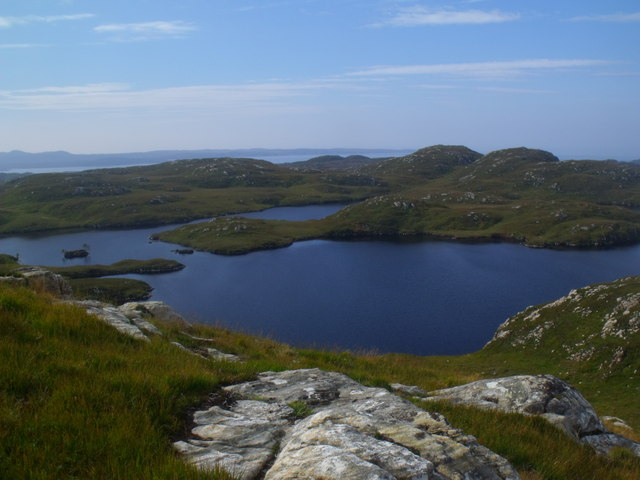 Loch a' Chapuill near Lochinver