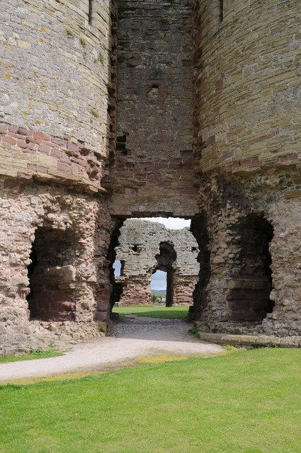 Gatehouse to Rhuddlan Castle
