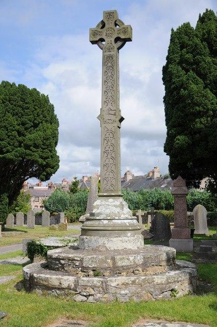 Cross in Rhuddlan churchyard