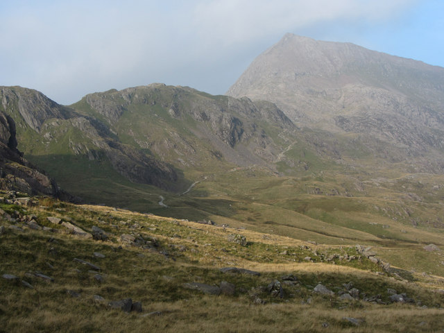 View from the Pyg Track to Crib Goch