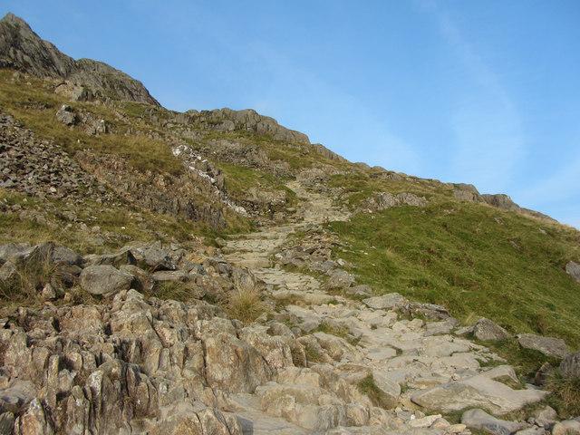 On Snowdon's Pyg Track