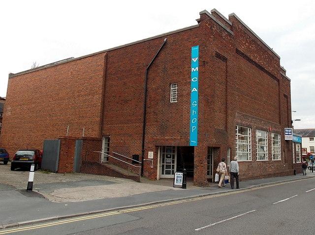 YMCA shop in Oswestry