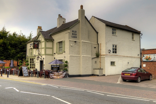 The Old Red Lion, Holmes Chapel