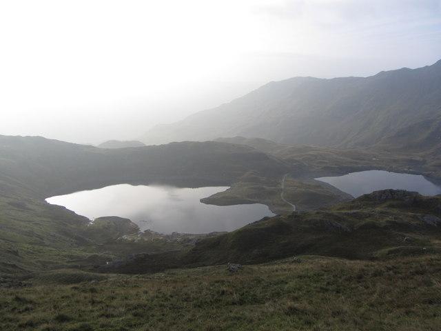 Overlooking Llyn Llydaw