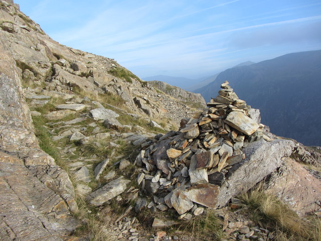 Cairn on Crib Goch