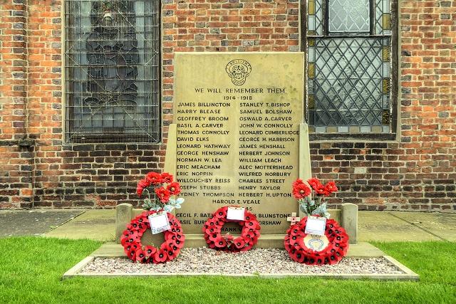 War Memorial, St Luke's Church