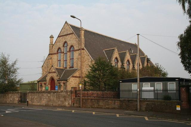 Newcraighall:  Former church