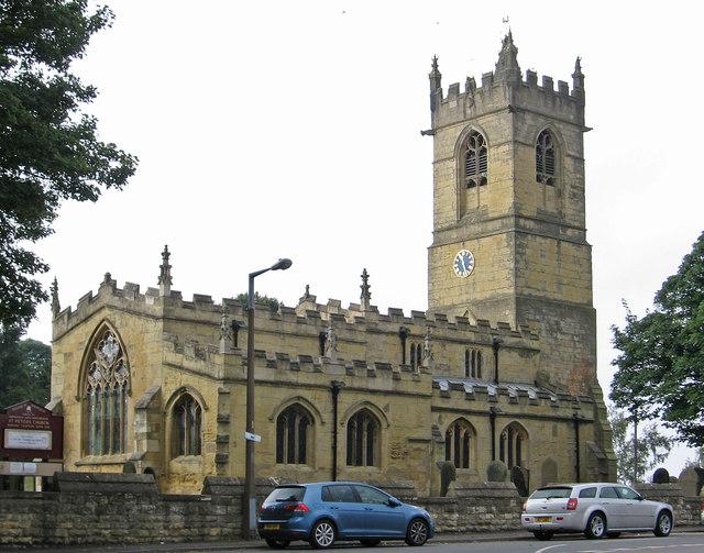 Barnburgh - St Peter's Church - from NE