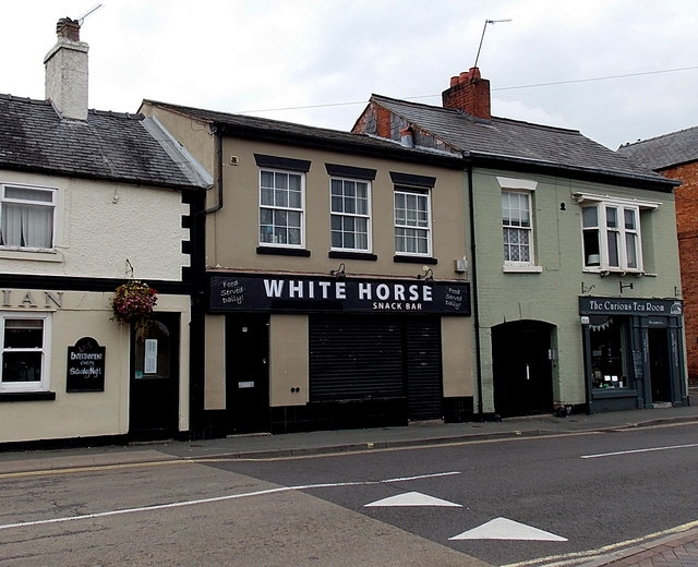 White Horse snack bar in Oswestry