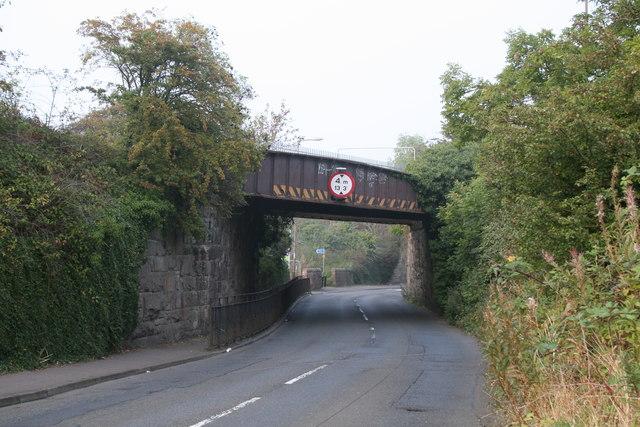 Newcraighall:  former railway bridge