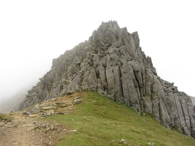 Buttress on Garnedd Ugain