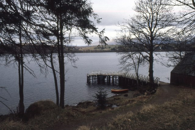 Pier at Sonachan House,Loch Awe