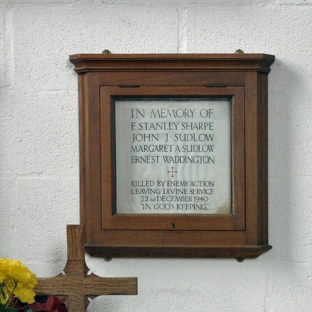 St George's: Civilian War Memorial