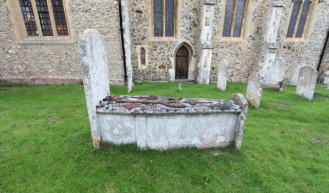 St Mary, Great Leighs - Grave