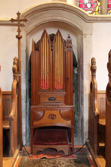 St Mary, Great Leighs - Barrel organ