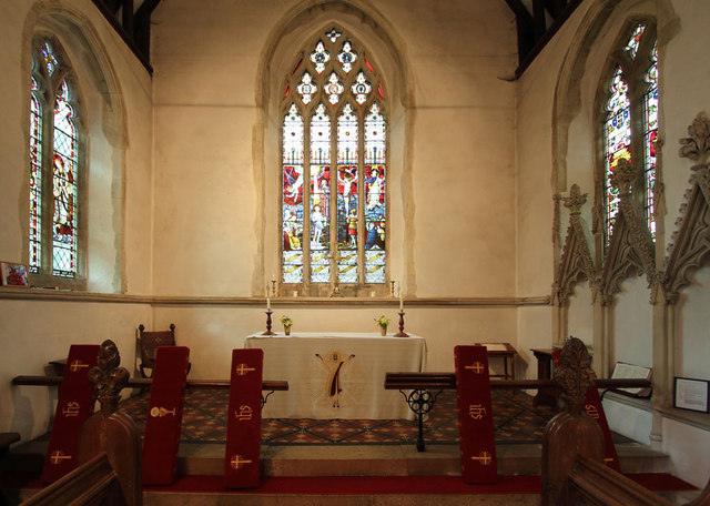 St Mary, Great Leighs - Chancel