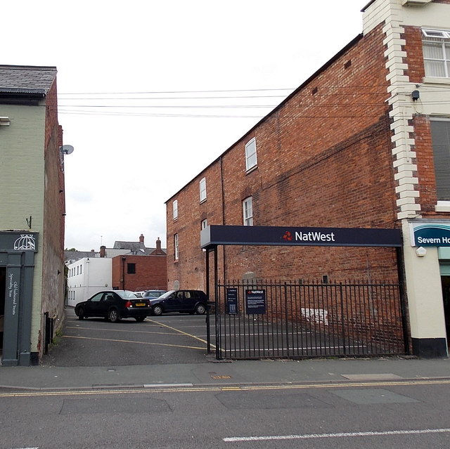 NatWest car park in Oswestry