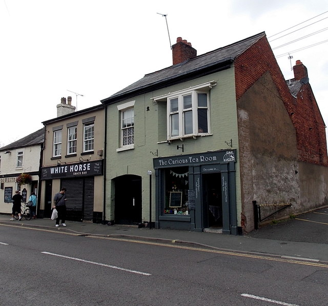 The Curious Tea Room in Oswestry