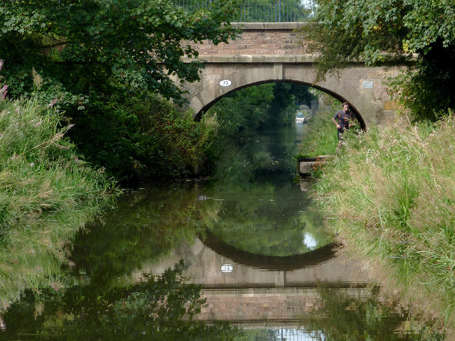 Galley Bridge at Congleton, Cheshire