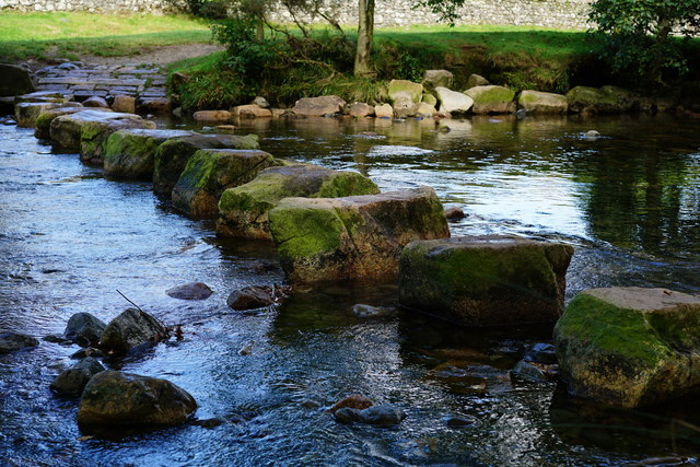 Stepping Stones, River Esk, Cumbria