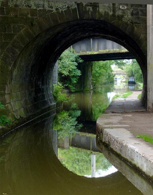 Canal bridges at Congleton, Cheshire