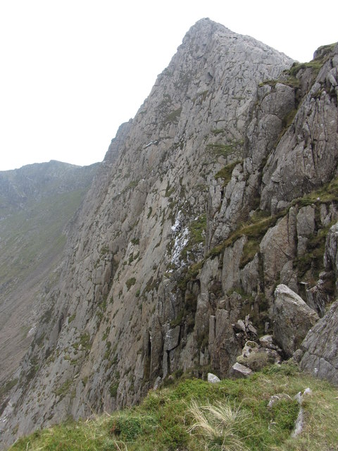 West peak of Y Lliwedd