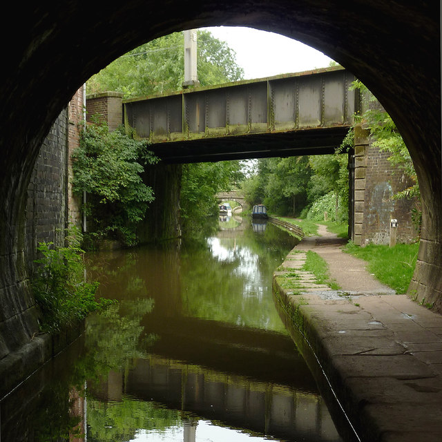Canal bridges at Congleton, Cheshire