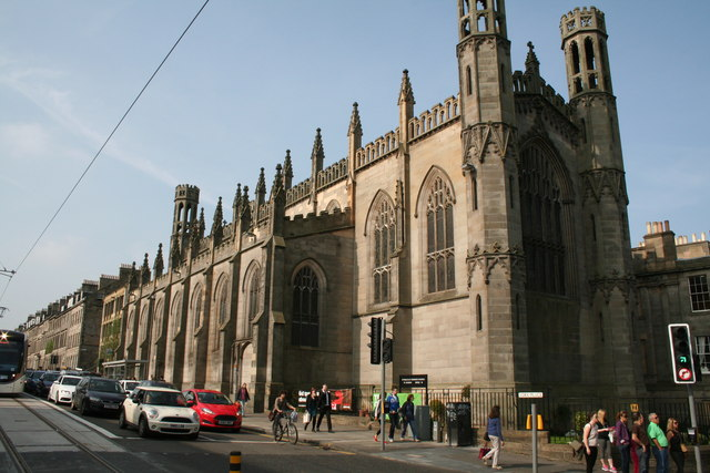 Edinburgh: St. Paul's and St. George's Church