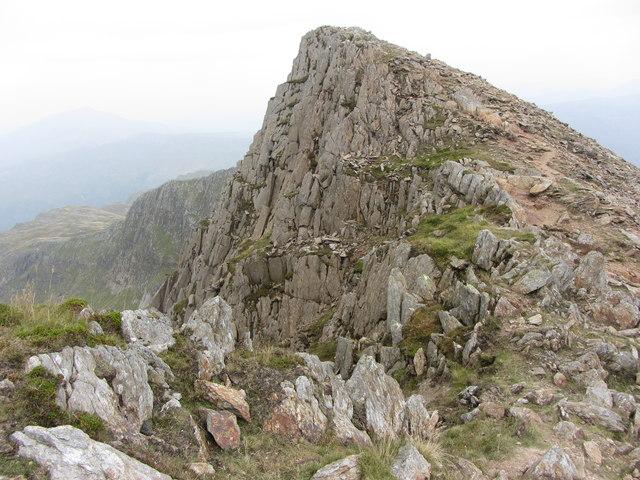 East Peak of Y Lliwedd