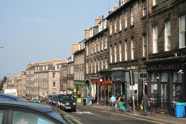 Edinburgh:  Broughton Street