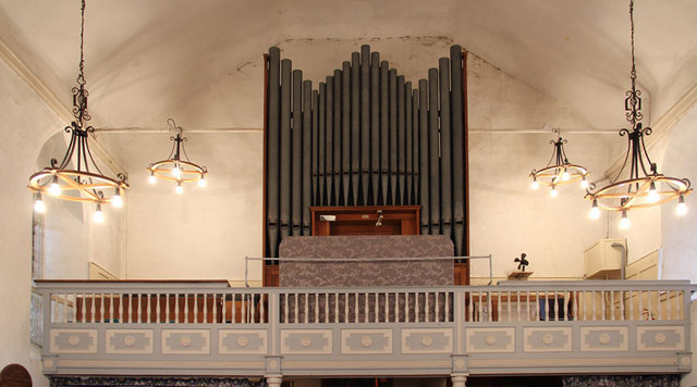 St Mary, Great Leighs - Organ loft