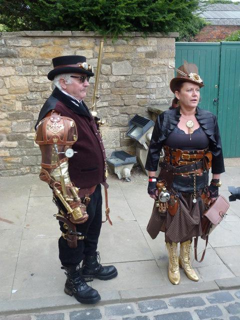 Steampunk festival in Lincoln 2014 - Photo 17
