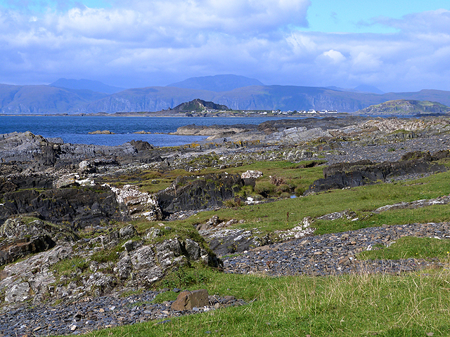 West coast of Seil