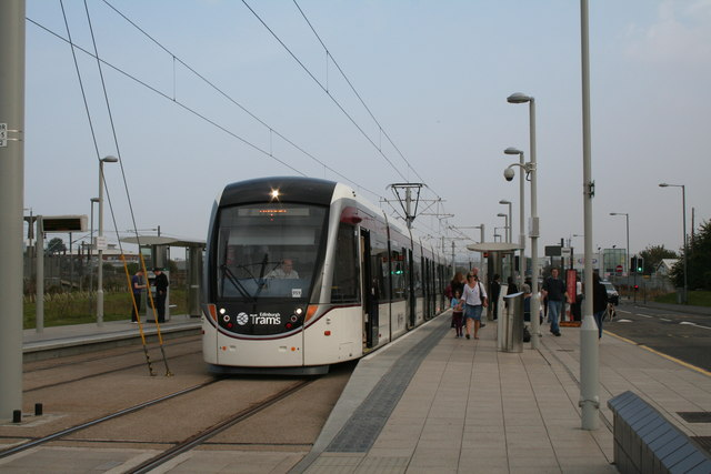 Edinburgh Park Station tram stop