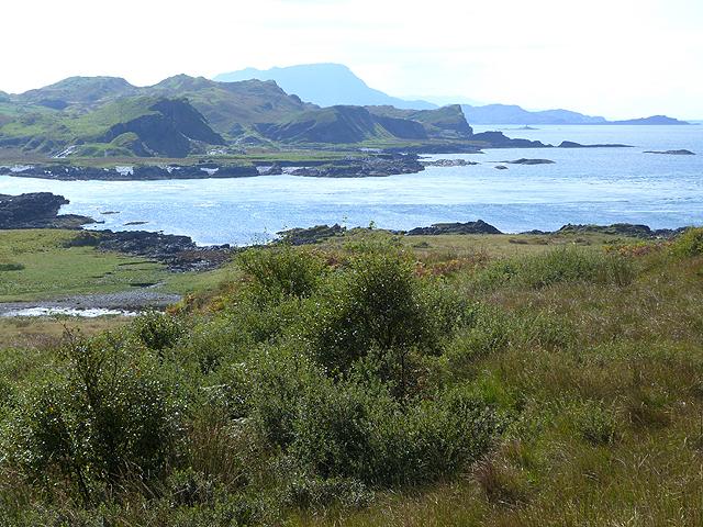 West coast of Seil