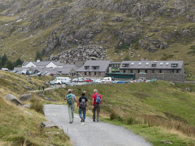 Heading back to Pen-y-Pass on the Miners' Track