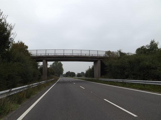 A143 Old Railway Road & Bridge