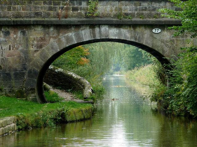 Lamberts Lane Bridge in Congleton, Cheshire