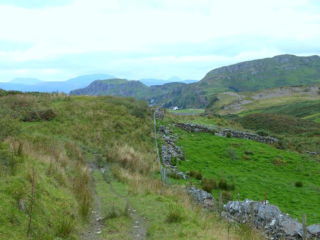 Path below Bàrr Mhòr