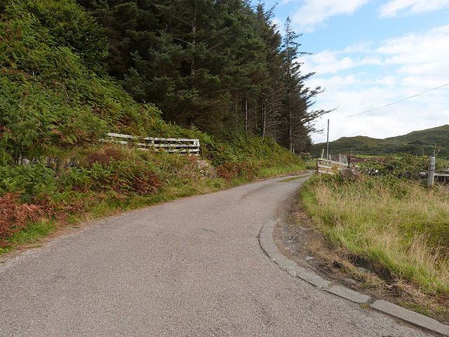 Driveway to Dunmor House