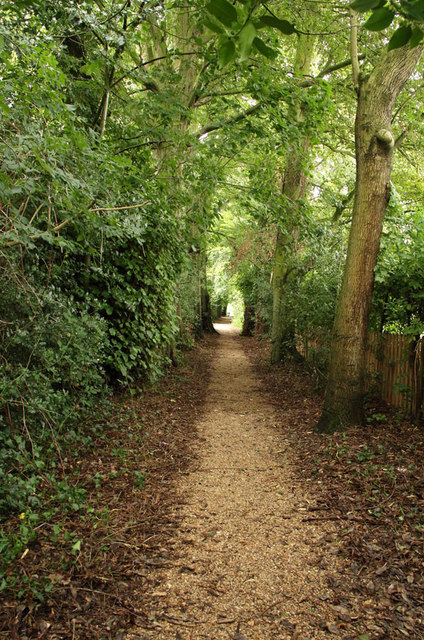 Path from St Andrew, Congham