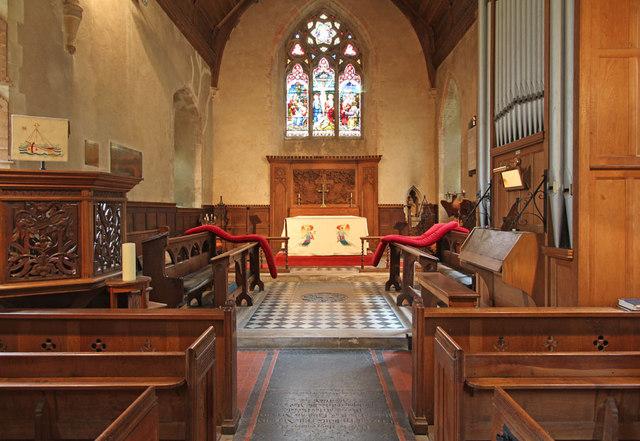 St Andrew, Congham - Chancel