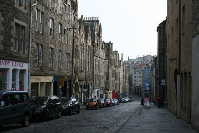 Edinburgh:  Blackfriars Street